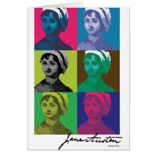 AustenPop -- Jane Austen-Art Karte