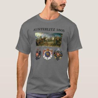 Austerlitz Wappen 2 mit Karte T-Shirt