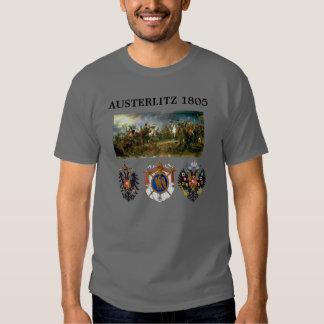 Austerlitz Wappen 2 mit Karte T-Shirts