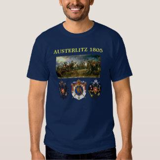 Austerlitz Wappen mit Kampfkarte T-shirt