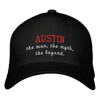 Austin der Mann, der Mythos, die Legende Bestickte Kappe