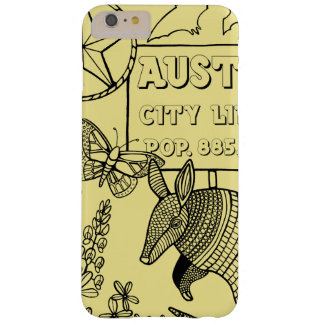 Austin-Gürteltier-Linie Kunst-Entwurf Barely There iPhone 6 Plus Hülle