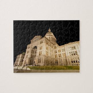 Austin-Hauptstadts-Gebäude Puzzle