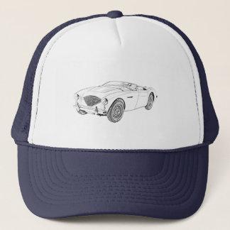 Austin Healey 1953 100 Truckerkappe