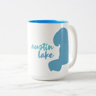 Austin See, Portage, Michigan Zweifarbige Tasse