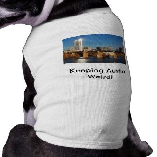 Austin sonderbar behalten! mit Skylinen T-Shirt
