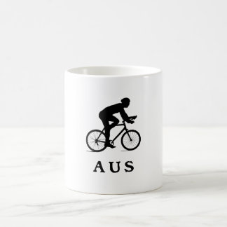 Austin Texas, das AUS radfährt Kaffeetasse
