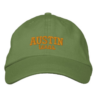 Austin Texas gestickt Bestickte Kappe