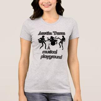 Austin Texas --Musikalisches Spielplatz T-Shirt