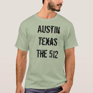 Austin, Tx die 512 T-Shirt