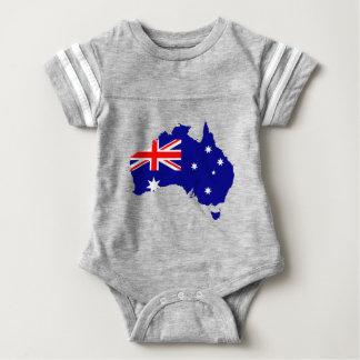 australia3 baby strampler