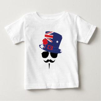 Australia go Mustache Baby T-shirt