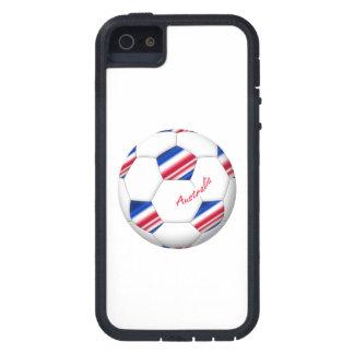 """Australian Soccer ball. Ball von """"AUSTRALIEN """" Etui Fürs iPhone 5"""