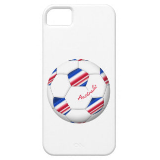 "Australian Soccer ball. Ball von ""AUSTRALIEN "" iPhone 5 Cover"