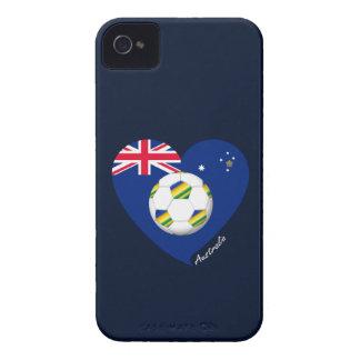 "Australian Soccer Team. Fußball von ""AUSTRALIEN "" Case-Mate iPhone 4 Hüllen"