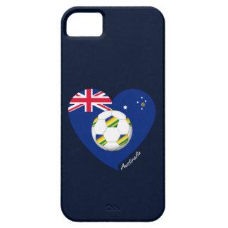 """Australian Soccer Team. Fußball von """"AUSTRALIEN """" iPhone 5 Etuis"""