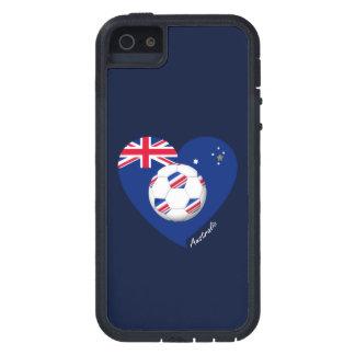 "Australian Soccer Team. Fußball von ""AUSTRALIEN "" iPhone 5 Cover"