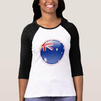 Australien-Blasen-Flagge T-Shirt