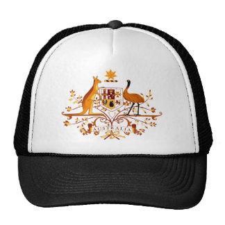 Australien COA Brown Caps