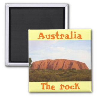 Australien der coole Magnetentwurf des Felsens Quadratischer Magnet