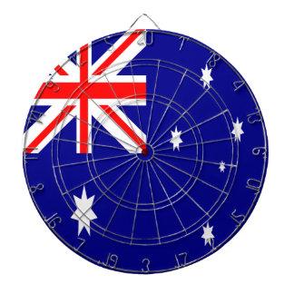 Australien-Flagge Dartscheibe