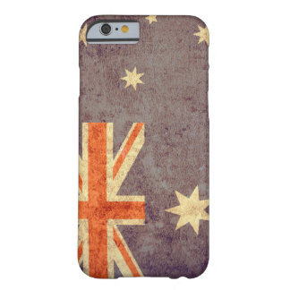 Australien-Flagge - Schmutz Barely There iPhone 6 Hülle