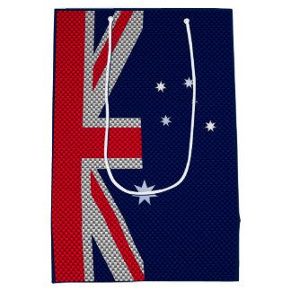 Australien-Flaggen-Entwurf in den Mittlere Geschenktüte