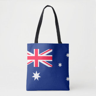 Australien-Flaggenbild für ganz vorbei - Tasche