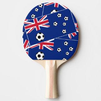 Australien-Fußballflagge s6 pillow.png Tischtennis Schläger