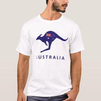 AUSTRALIEN-KÄNGURU-FLAGGEN-T-SHIRT T-Shirt