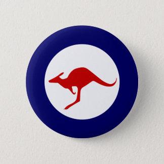 Australien-Kängurumilitärluftfahrt roundel Runder Button 5,7 Cm