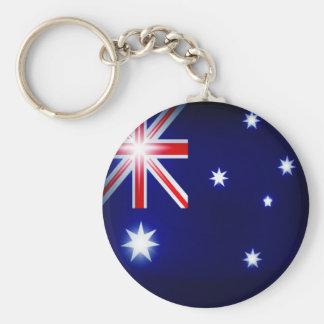 Australien Keychain Standard Runder Schlüsselanhänger