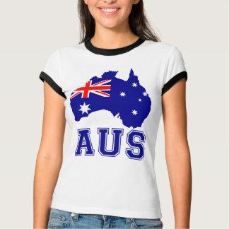 Australien-Kontinent T-Shirt