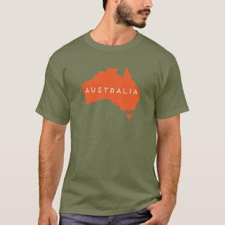Australien-Land-Silhouette T-Shirt