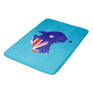 Australien-Landesflagge Badematte