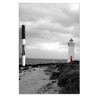 Australien-Leuchtturm Trockenlöschtafel