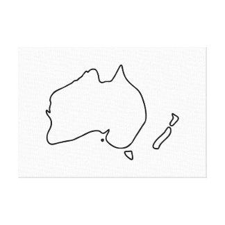 Australien Neuseeland Downunder Outback Leinwanddruck