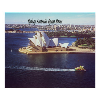 Australien-Opernhaus Poster