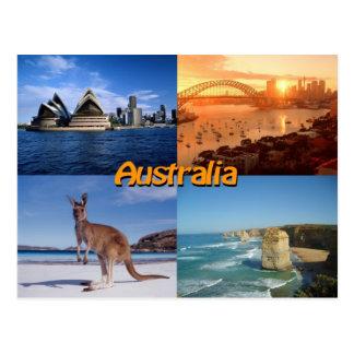 Australien-Postkarte Postkarte