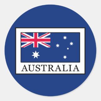 Australien Runder Aufkleber
