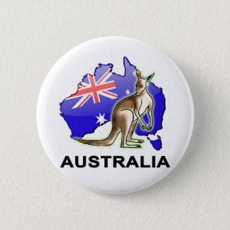 Australien Runder Button 5,1 Cm