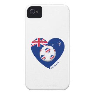 """""""AUSTRALIEN"""" Soccer Team. Fußball von Australia. iPhone 4 Case-Mate Hülle"""