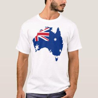 Australien-Staats-Flaggen-Shirt-Stolz-T - Shirt