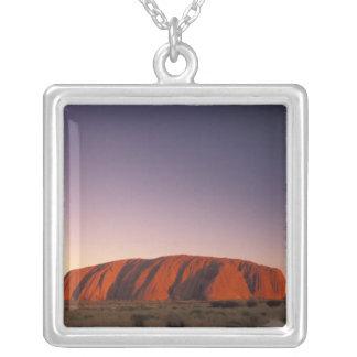 Australien, Uluru Kata Tjuta Nationalpark, Uluru 2 Versilberte Kette
