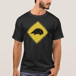 Australien-Verkehrsschild - Echidna T-Shirt