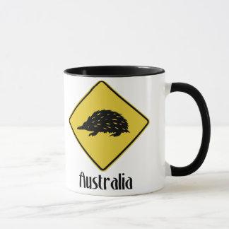 Australien-Verkehrsschild - Echidna Tasse