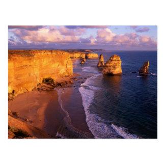 Australien, Victoria. 12 Apostel, Hafen Postkarte