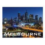 Australien, Victoria, Melbourne, Skyline mit Postkarte
