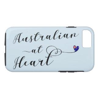 Australier am Herz-Handy-Fall iPhone 8/7 Hülle