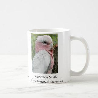 Australier Galah (Rose Breasted Cockatoo) Kaffeetasse